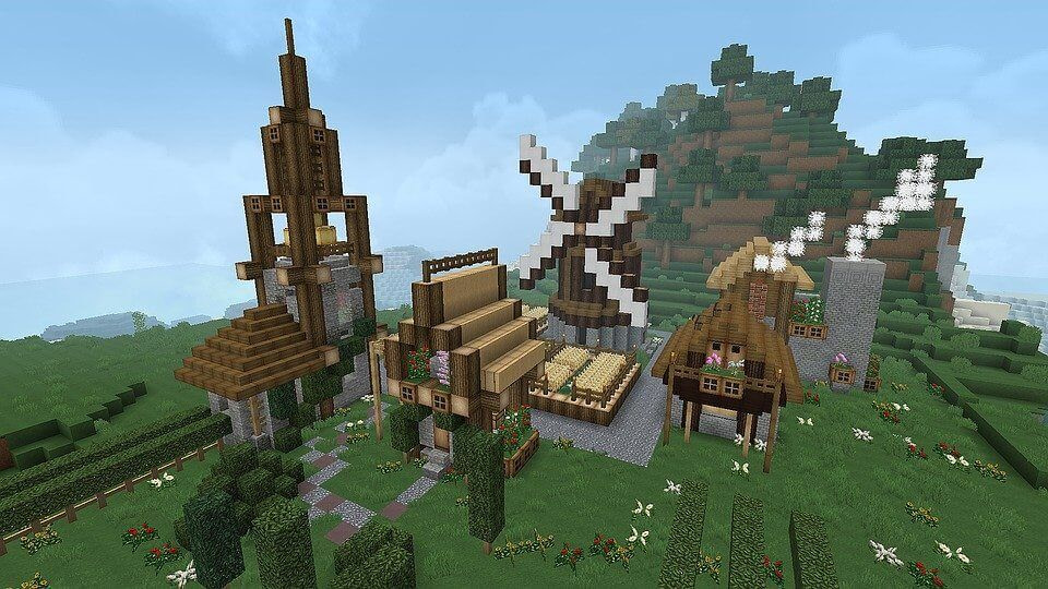 Minecraft - niesamowite budowle